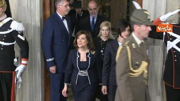 5 - Fico e Casellati al Quirinale per le Consultazioni con il Presidente della Repubblica Mattarella