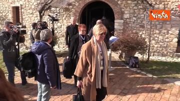 4 - Il Partito Democratico si riunisce in seminario nell'Abbazia di San Pastore a Contigliano