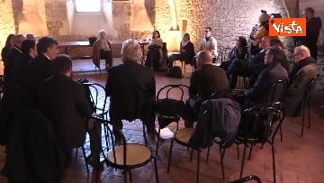 21 - Il Partito Democratico si riunisce in seminario nell'Abbazia di San Pastore a Contigliano