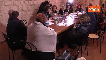 20 - Il Partito Democratico si riunisce in seminario nell'Abbazia di San Pastore a Contigliano