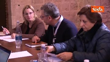 19 - Il Partito Democratico si riunisce in seminario nell'Abbazia di San Pastore a Contigliano