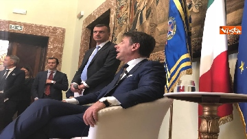 12 - Il presidente del Consiglio, Giuseppe Conte, incontra la stampa nazionale prima della pausa estiva
