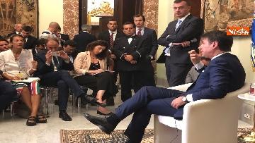 11 - Il presidente del Consiglio, Giuseppe Conte, incontra la stampa nazionale prima della pausa estiva