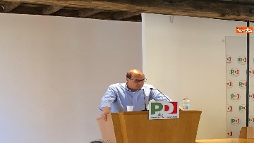 3 - Zingaretti interviene alla direzione del Pd al Nazareno