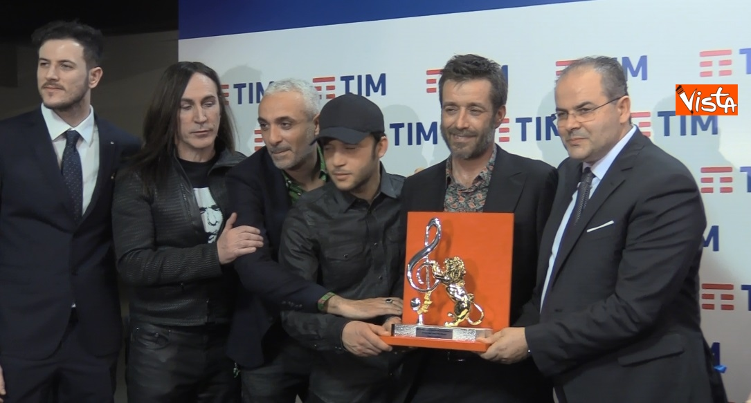 Daniele Silvestri e Rancore ritirano il premio Mia Martini