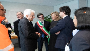 2 - Mattarella inaugura la tramvia D2 a Firenze