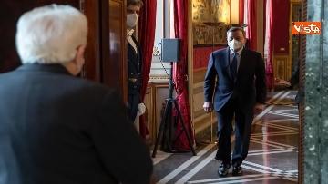 2 - Mario Draghi arriva al Quirinale