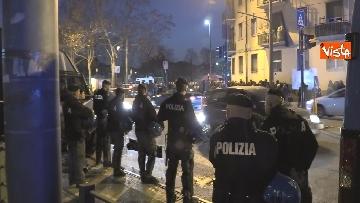 1 - Il presidio degli anarchici a Torino contro la Lega