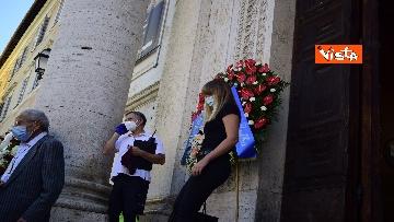 1 - Funerale Zavoli, le immagini del funerale nella chiesa di San Salvatore in Lauro a Roma
