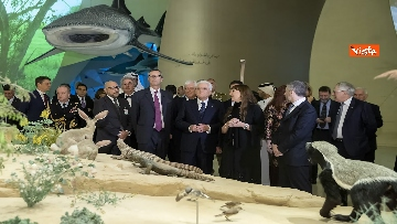 2 - Mattarella in visita di Stato in Qatar arriva all'aeroporto di Doha