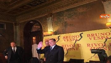 2 - Berlusconi alla presentazione del libro di Vespa