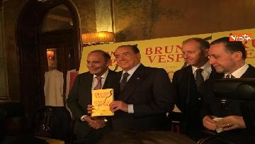3 - Berlusconi alla presentazione del libro di Vespa
