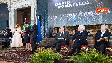 3 - La cerimonia di presentazione dei candidati al David di Donatello al Quirinale