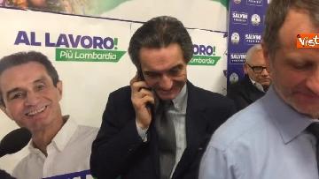 8 - Regionali Lombardia, Fontana il giorno dopo la vittoria
