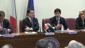 3 - Sanità, Conte e Speranza presentano i primi 100 giorni di attività del governo