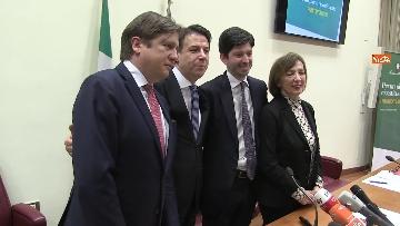 9 - Sanità, Conte e Speranza presentano i primi 100 giorni di attività del governo