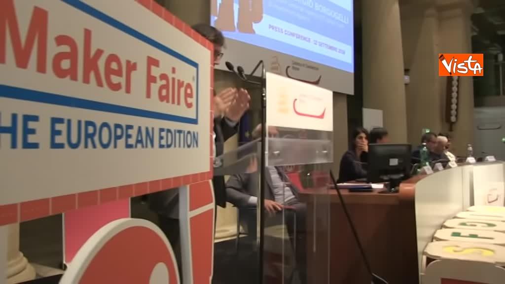 12-09-18 Maker Faire la presentazione della settima edizione con Raggi e Tagliavanti immagini_04