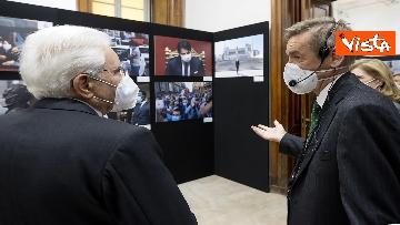 1 - Mattarella visita la mostra