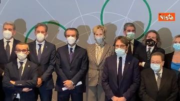 3 - Presentata la nuova giunta di Regione Lombardia in conferenza stampa. Le immagini