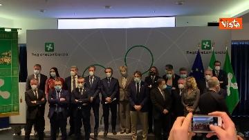 2 - Presentata la nuova giunta di Regione Lombardia in conferenza stampa. Le immagini