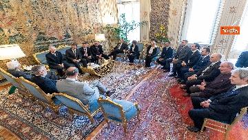 3 - Mattarella incontra una delegazione delle Acli al Quirinale