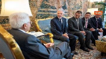 2 - Mattarella incontra una delegazione delle Acli al Quirinale