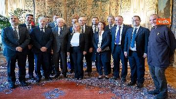 4 - Mattarella incontra una delegazione delle Acli al Quirinale