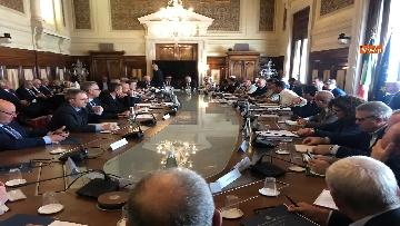 3 - Manovra, Salvini al tavolo con le parti sociali al Viminale