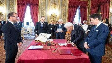 3 - Il giuramento del Ministro della Giustizia Alfonso Bonafede