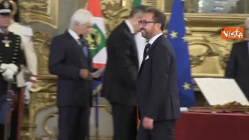 2 - Il giuramento del Ministro della Giustizia Alfonso Bonafede