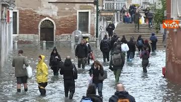 11 - Venezia sotto l'acqua, ecco come continua la vita quotidiana