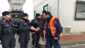 2 - Il ministro Salvini a Chiomonte visita i cantieri Tav