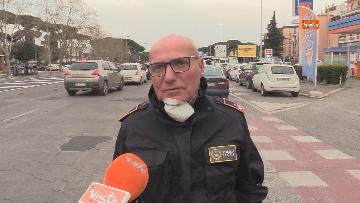 4 - Controlli serrati della Polizia di Roma. Ecco i posti di blocco sull'Anagnina