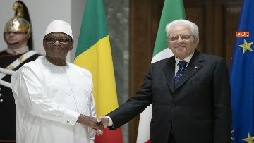 3 - Mattarella incontra il presidente della Repubblica del Mali