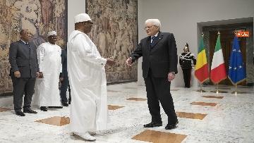 2 - Mattarella incontra il presidente della Repubblica del Mali