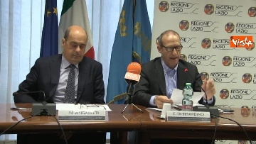 2 - Zingaretti presenta piano regionale per Riders, le immagini