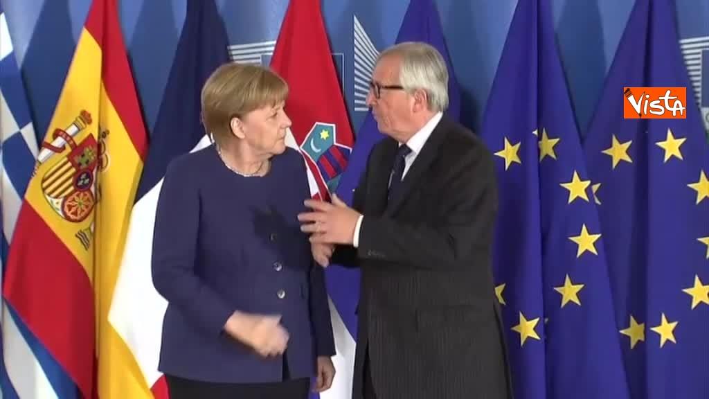 24-06-18 Vertice migranti a Bruxells, tutti gli arrivi da Conte alla Merkel_12