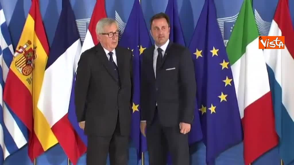 24-06-18 Vertice migranti a Bruxells, tutti gli arrivi da Conte alla Merkel_13