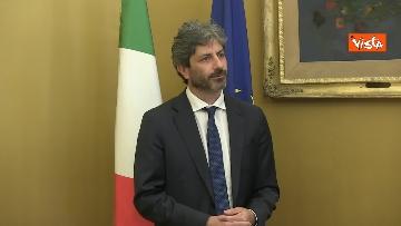 1 - L'intervista del presidente della Camera Roberto Fico all'Agenzia Vista