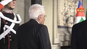1 - FOTO GALLERY - Mattarella, il discorso al termine delle consultazioni