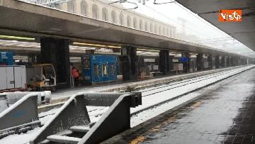 5 - La neve ricopre le strade di Roma