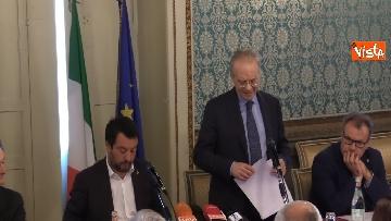 4 - Salvini e Fontana alla sottoscrizione dell'accordo riguardante la promozione della Sicurezza Integrata