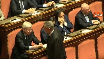 3 - Napolitano apre la prima seduta del Senato
