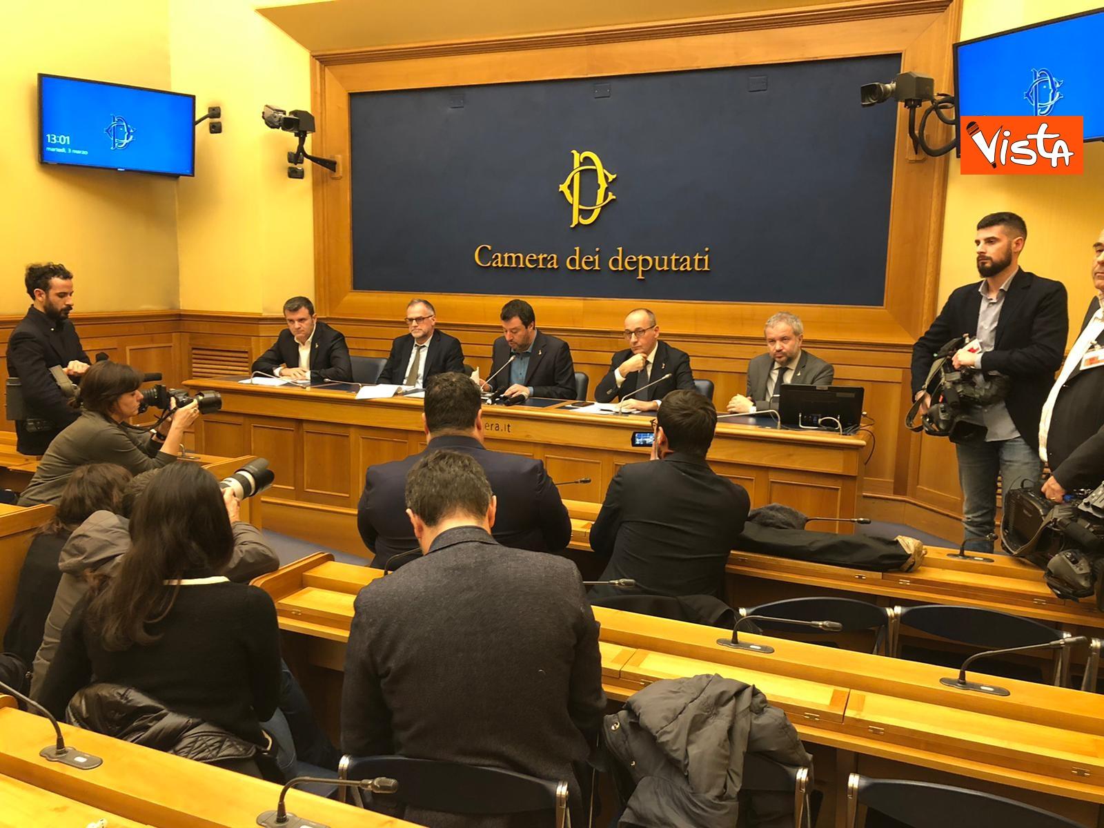 La conferenza di Salvini alla Camera dei Deputati_03
