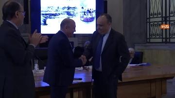 9 - Bonisoli premia vincitori progetto 'Giornata del Paesaggio' al Mibac