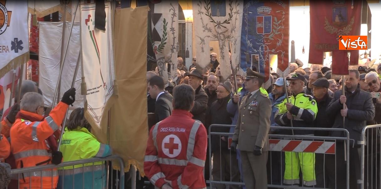 I Funerali di Stato di Giuseppe Zamberletti a Varese