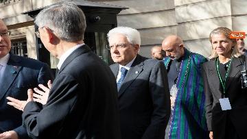 1 - Chirac, Mattarella alla messa solenne a Parigi