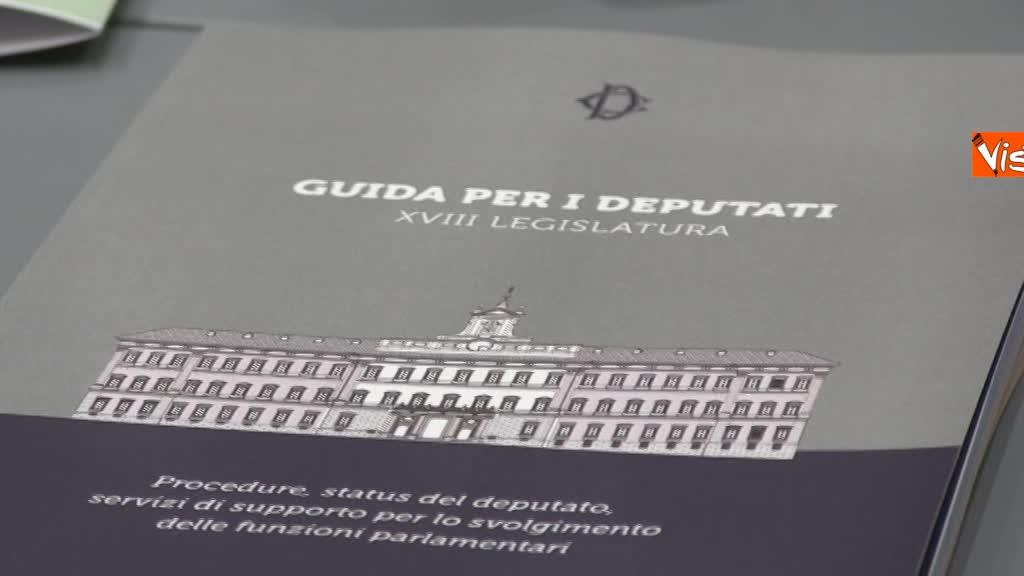 20-03-18 I nuovi deputati alle prese con la registrazione a Montecitorio, tra fototessera e manuale del deputato 5