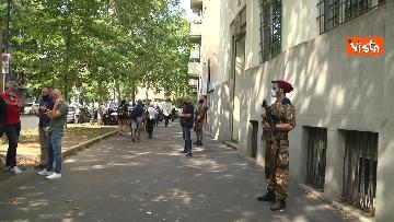 1 - Santa Sofia, Salvini al consolato turco di Milano. Le immagini del presidio