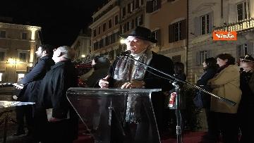 4 - La Colonna dell'Immacolata in tutto il suo splendore illuminata da Vittorio e Francesca Storaro